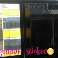 sticker/stiker kaca/kaca film riben 80% penolak panas