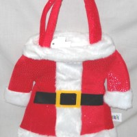Tas Tangan Natal Model Baju Santa Christmas Gift Halus Lembut Q420112