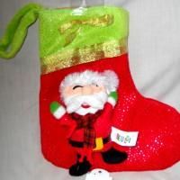 Kaos Kaki Natal Christmas Sock Santa Kado Hadiah Lucu Cute K530070S