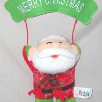 Hiasan Natal Gantungan Merry Christmas Santa Cute Imut BB 530121S