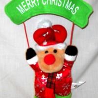Pernak Pernik Natal Gantungan Merry Christmas Rusa Hadiah CC530121R