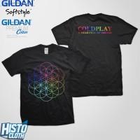 Kaos Band Rock Coldplay A Head Full Of Dreams - CLD46 Req