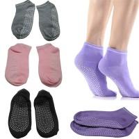 Kaos Kaki Yoga Pilates Lapisan Bawah Dot Grip Anti Slip
