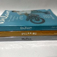 Satu Paket Novel Pidi Baiq (Dilan #1, Dilan #2, Milea)