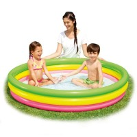Bestway Rainbow Summer Set Pool 70x30cm. Kolam Renang Karet Anak.
