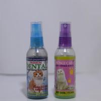 Dental Cat Penghilang Bau Mulut Kucing