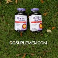 Natrol Omega-3 Fish Oil 1000mg (150 softgels)