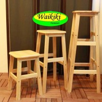 kursi kayu kursi bakso kursi baso 75 cm Waikiki