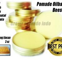 Pomade oilbased beeswax 3 oz non label murah