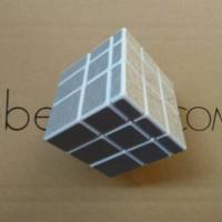 Rubik Mirror 3x3 Yong Jun Silver 3x3x3 Magic Cube Original