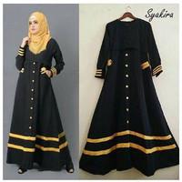 PROMO,MURAH,BARU Syarika Long Dress (tanpa Pasmina)