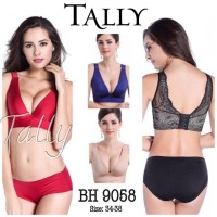 BRA 9058 TALLY BH PENEKAN PENGIKAT PRESS LEMAK PUSH UP UNDERWEAR PESTA