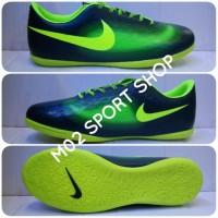 Sepatu futsal Nike Magista Hitam Kombinasi Ijo stabillo slim
