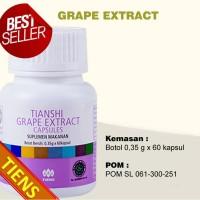 OBAT STROKE BANDUNG   Tiens Grape Extract Capsules HALAL ORI SEGEL