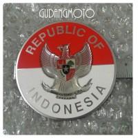 Vespa Sticker Metal Burung Garuda Congo 60s
