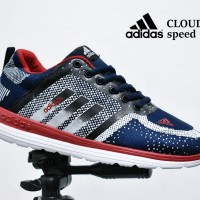 Sepatu Sport Adidas Cloudfoam Grade Ori  running olahraga gym jogging