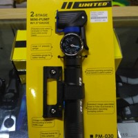 Pompa Sepeda Mini United Meteran
