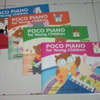 Buku Poco Piano 1 set isi 4 buku