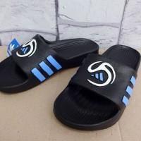 Sandal Adidas Predator hitam (sandal jepit,sandal murah,diskon