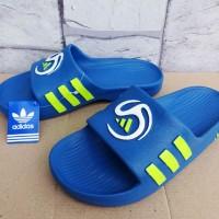 Sandal Adidas Predator Biru (sandal jepit,sandal murah,diskon