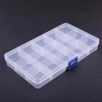 Kotak plastik serbaguna /kotak obat/kotak aksesoris 5x3 KP502