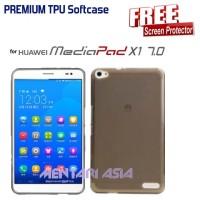 Softcase HUAWEI Mediapad X1 : PREMIUM TPU Softcase ( + Berkualitas