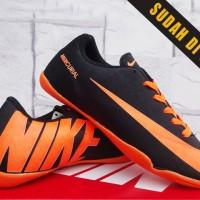 Nike Mercurial Vapor 9 Hitam Orange Anak(sepatu futsa anak,bola,soccer
