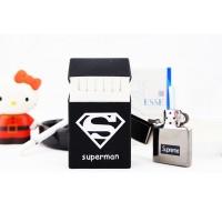 Cover Kotak Rokok Silicone Motif Superman
