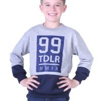 sweater gaya anak laki-laki TDLR jaket gaul anak pria murah dan keren