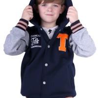 jaket keren anak laki-laki sweater gaya anak pria Original TDLR
