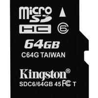 Original Kingston Micro Sd Card 64gb + Adapter