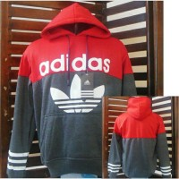 Jaket Parasut/Hoodies Adidas #Sweater/Jaket bola/Running/outdoor/Gym
