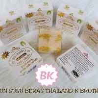 sabun susu beras thailand