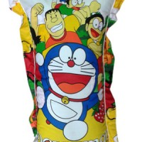 Bantal Cinta Karakter + Sarung Motif - Doraemon dkk