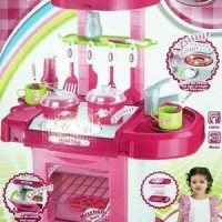 Kitchen Set Koper Super - Mainan Anak Masak Masakan