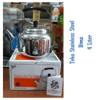 Bima Teko 4 Lt / Kettle Stainless Steel