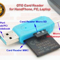Card Reader OTG utk HP/Samsung/Android /PC/Laptop