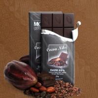 Premium Coklat Monggo Dengan Cocoa Nibs Dark Chocolate 69% 80 Gram