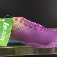 Sepatu Futsal League Attacanti Purple Green New Model