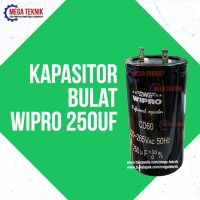 Kapasitor / Capasitor Bulat Electro Motor Listrik Dinamo Wipro 250 uf