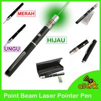 Point Beam Laser Pointer Pen untuk presentasi meeting