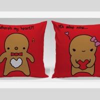 Bantal Sofa / Bantal Couple - Gingger Bread