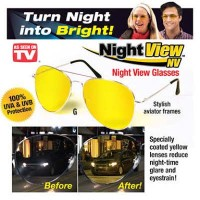 Night View Clip Ons : Kacamata Klip On Anti Silau Saat Malam