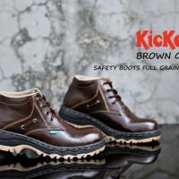 Promo sepatu boots safety murah