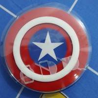 Wireless Charger Captain America, Superman, Batman For Samsung