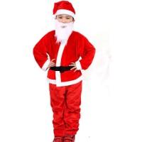 KOSTUM SANTA NATAL ANAK COWO FLANEL CHRISTMAS COSTUME BOY