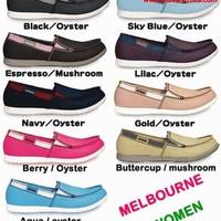 """MURAH MERIAH"""" Sepatu Crocs wanita (woman) Melbourne """"BURUAN PESAN"""""""