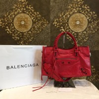 Bag BALENCIAGA City red