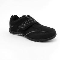 Sepatu Anak Sekolah Perempuan Hitam - Original NEW ERA JASON, No 31-38