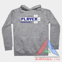 Hoodie - Sweater Player Number 1 -Misty -Front Logo